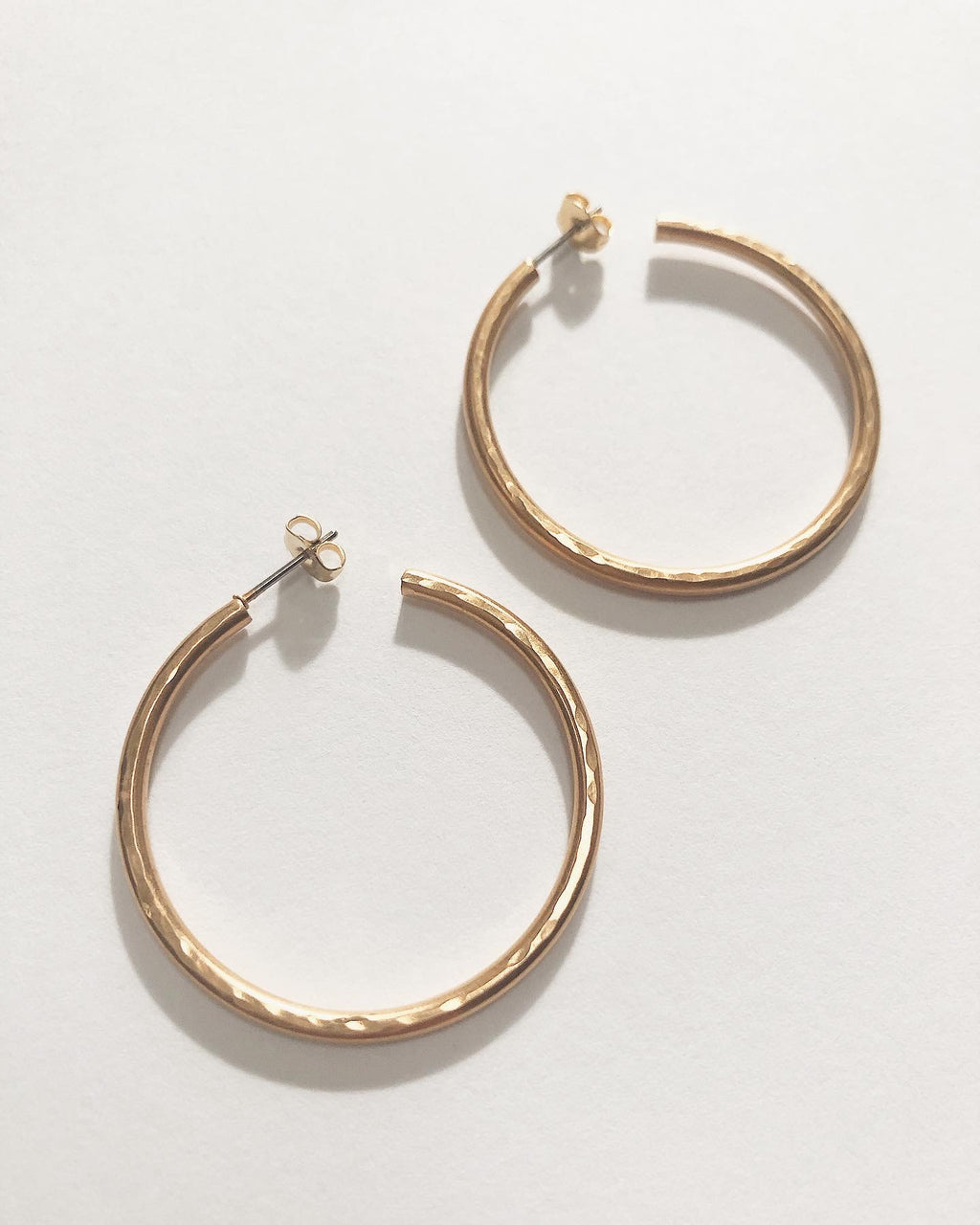 Aquinnah Hammered Hoop Earring - Multiple Colors!