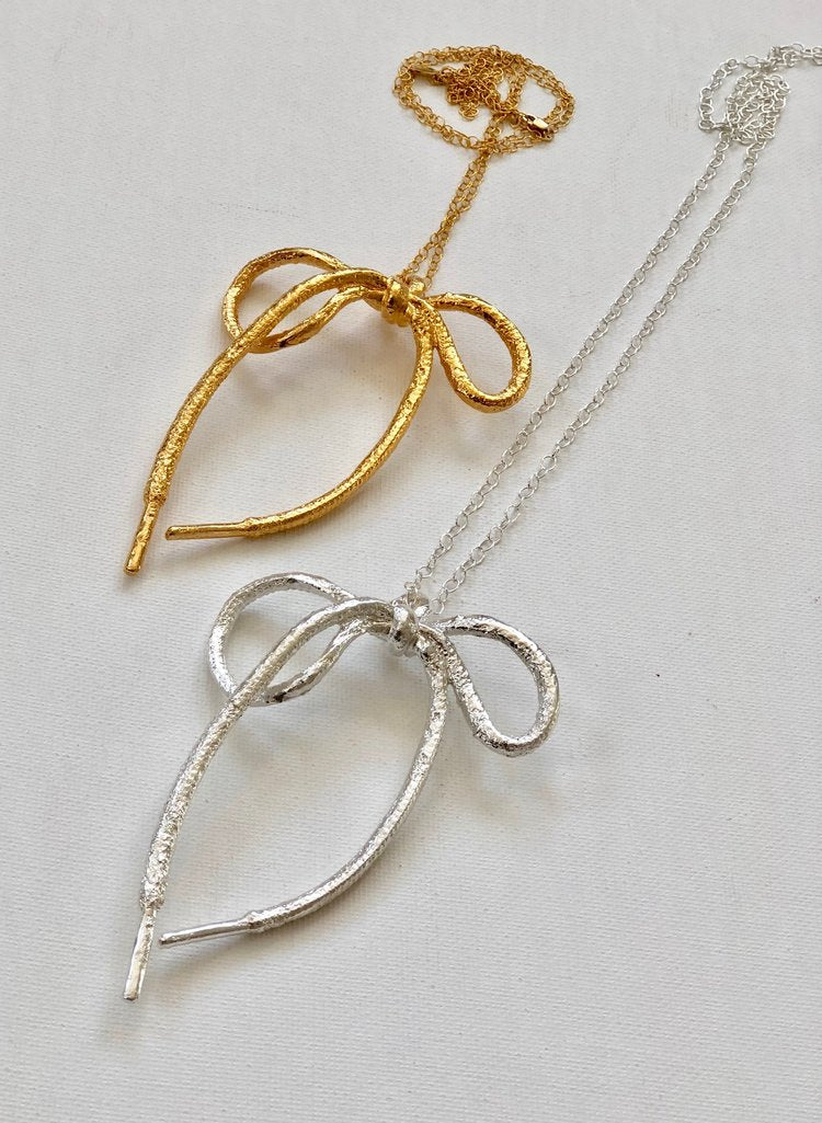 Falk Jewelry The Perfect Bow in Sterling Silver