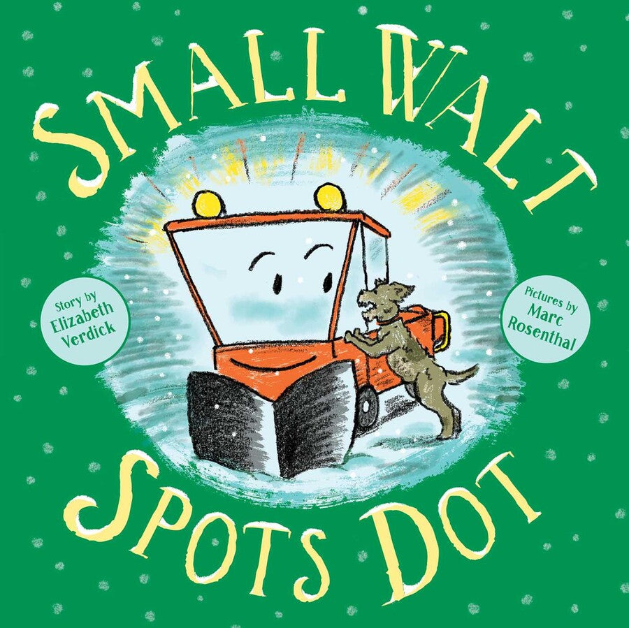 Small Walt Spots Dot Book by Elizabeth Verdick