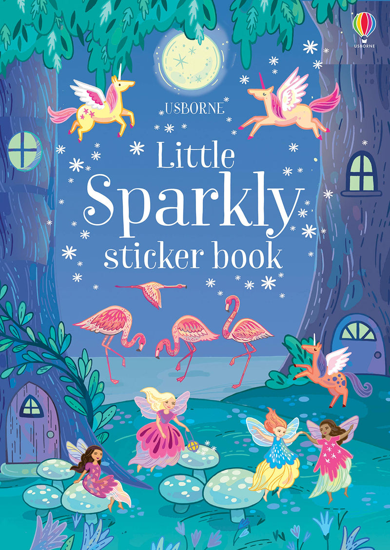 Usborne Little Sparkly Sticker Book