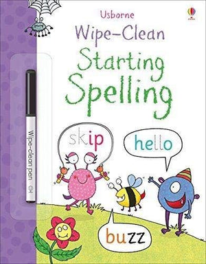 Usborne Starting Spelling Wipe Clean Book