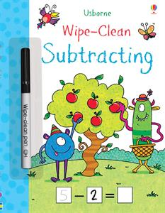 Usborne Subtracting Wipe Clean Book