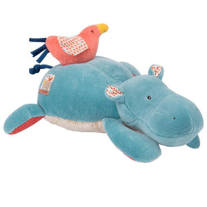 Moulin Roty Musical Hippopotamus Toy