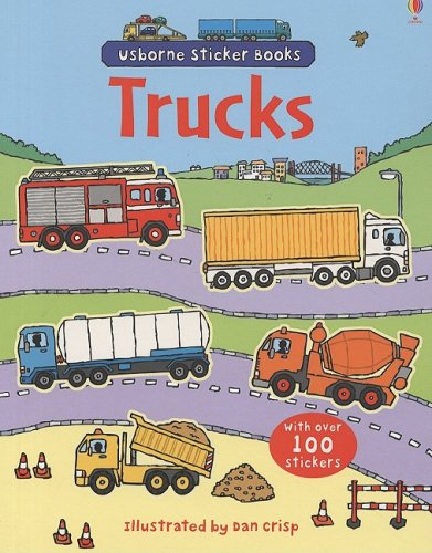 Usborne Trucks Sticker Books