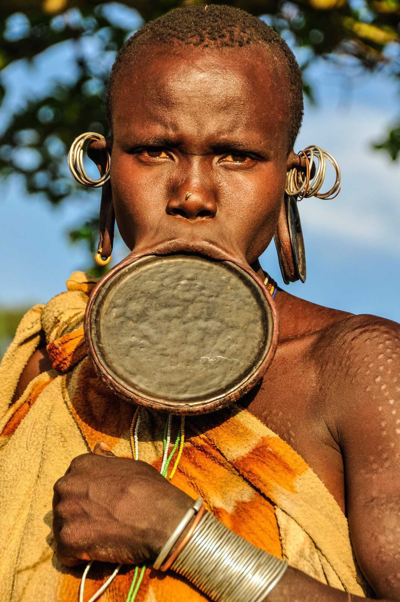 Adorned - Omo Valley - Surma Tribe