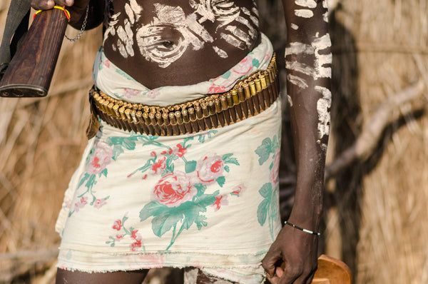 Ammo Belt - Omo Valley - Kara Tribe