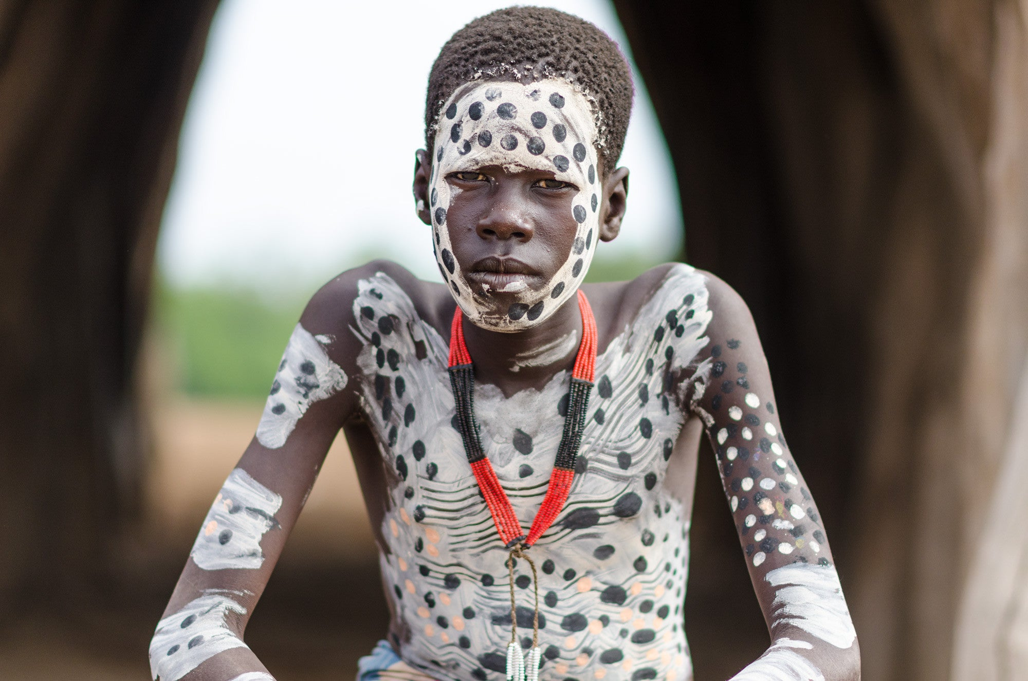 Kara Boy - Omo Valley - Kara Tribe