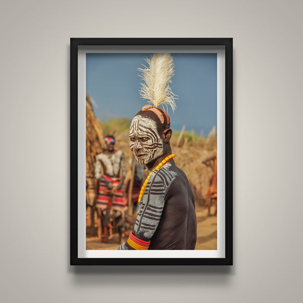 Kara Man with Headdress