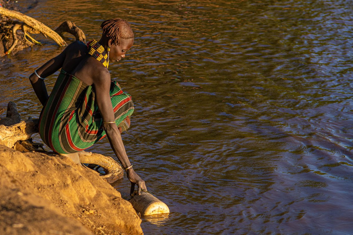 Morning Light - Omo Valley