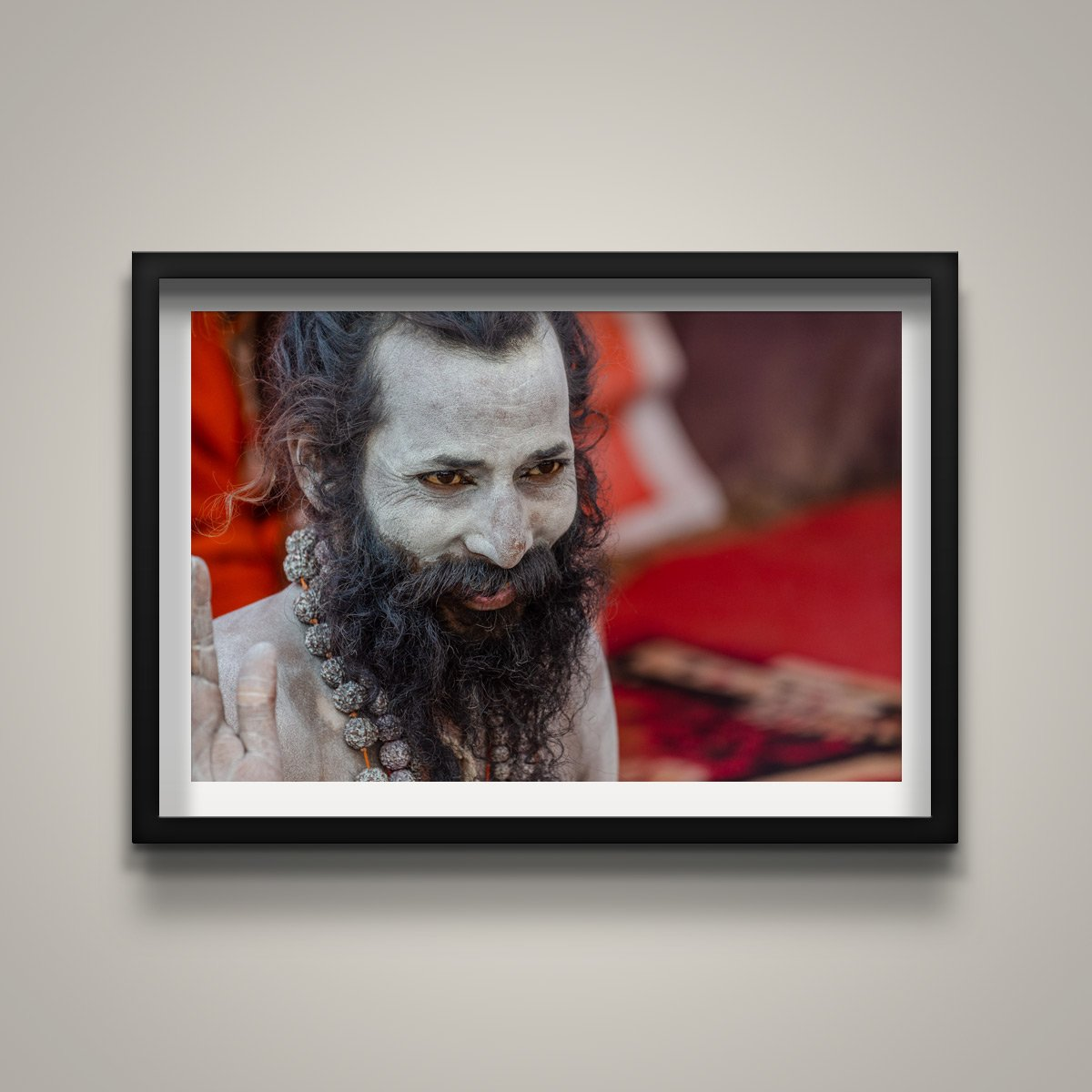 Naga Sadhu with Red