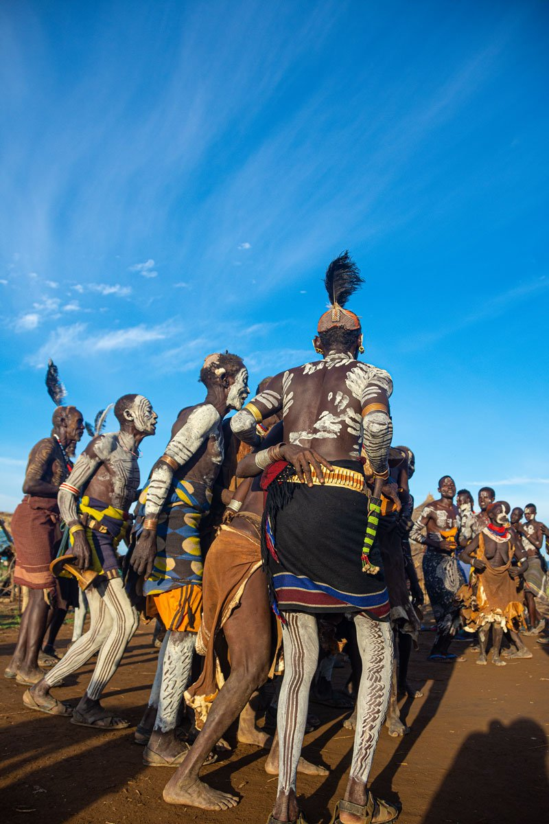 Party at Duss - Omo Valley