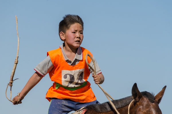 Race on the Gobi