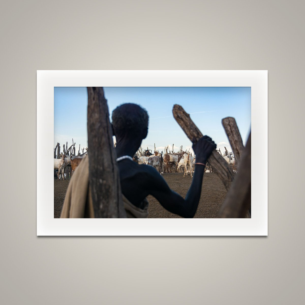 Standing Watch - Omo Valley