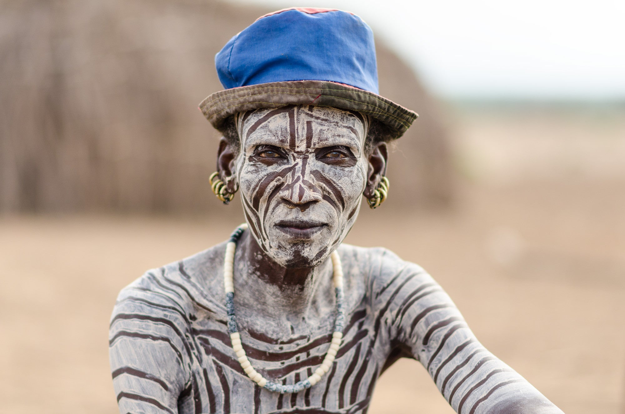 The Blue Hat - Omo Valley - Kara Tribe
