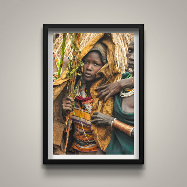 The Bride - Omo Valley - Gorro Village