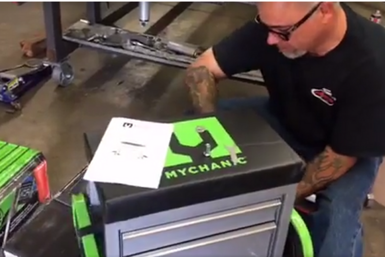 Facebook Live Unpacking of the  Sidekick Stool, POD Light and 2T Hybrid Floor Jack