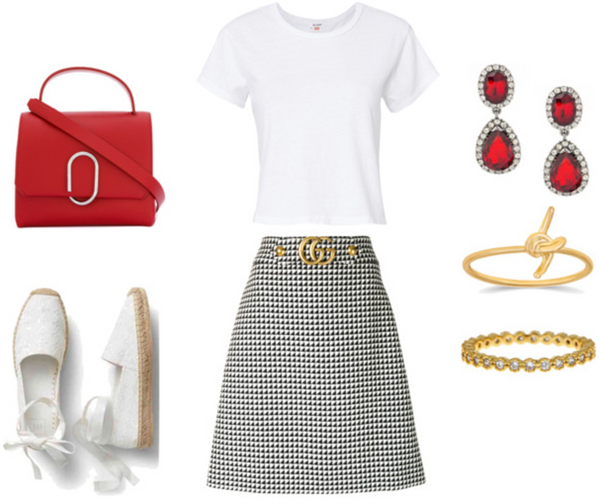 Fashionest Preppy Style Back to School Outfit