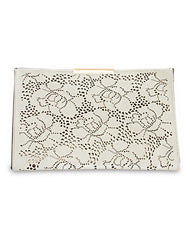 Blooming Rose Cutout Clutch