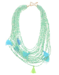 Fashionest Label Aloha Beaded Necklace