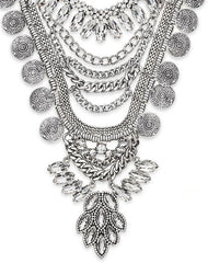 Fashionest Label Gypsy Statement Necklace