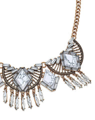Fashionest Label Irisa Statement Necklace
