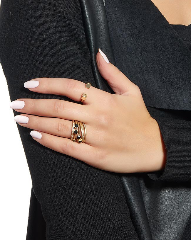 Fashionest Label Cubic Ring