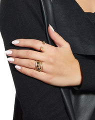 Nouveau Stacked Ring