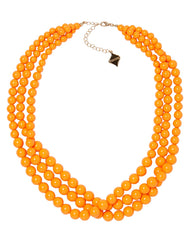 Winnie Necklace in Orange