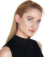 Winter Blues Drop Earrings