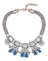 Elena Beaded Statement Necklace