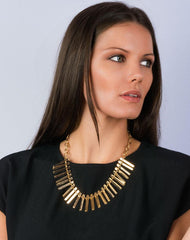 Fashionest Label Lantana Statement Necklace