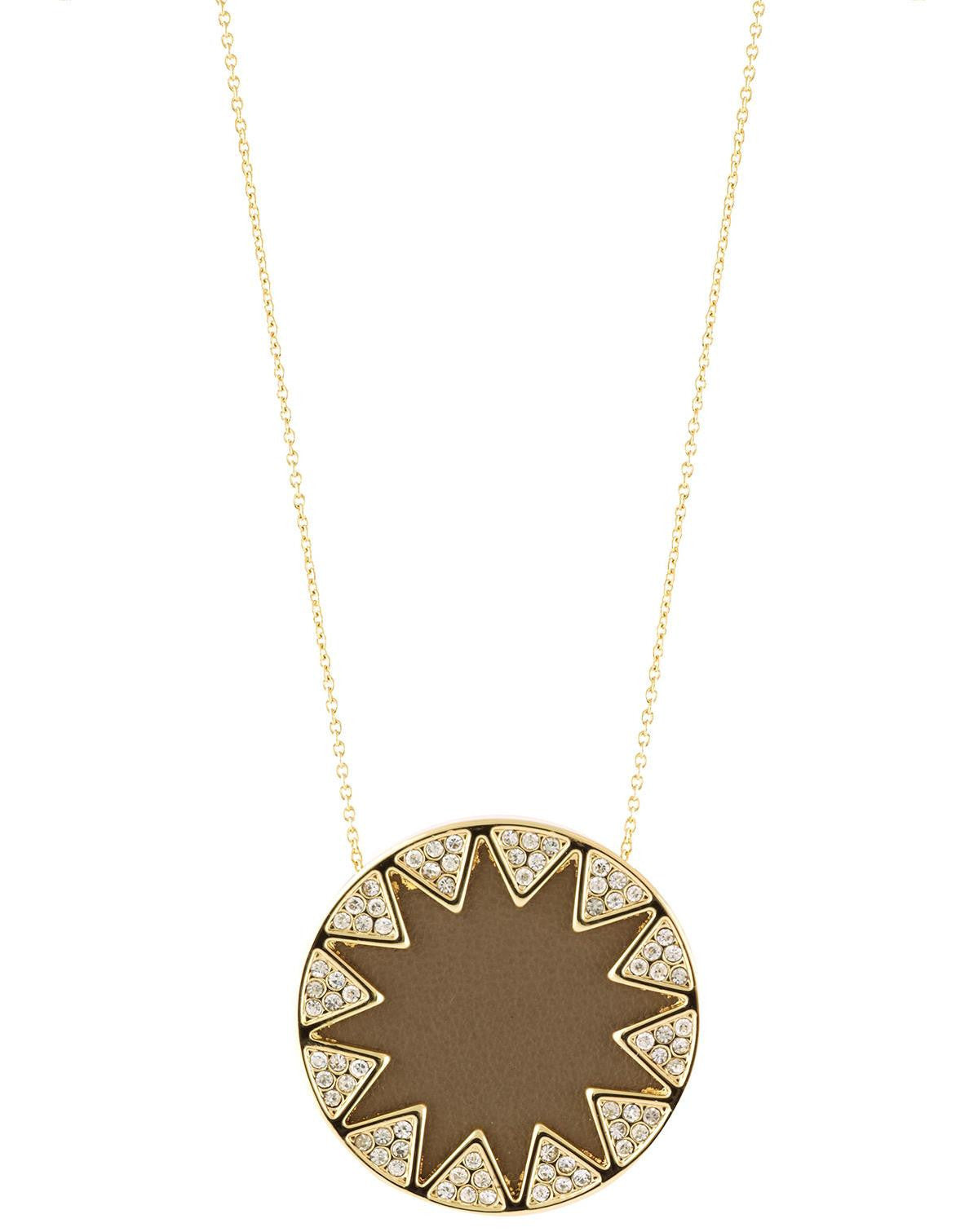 simply products pendant mini necklace southern boutique sunburst