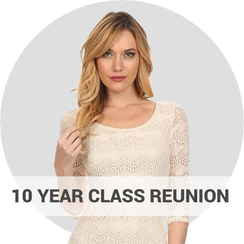 10 Year High School Reunion Dresses