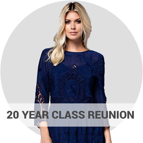 20 Year High School Reunion Dresses