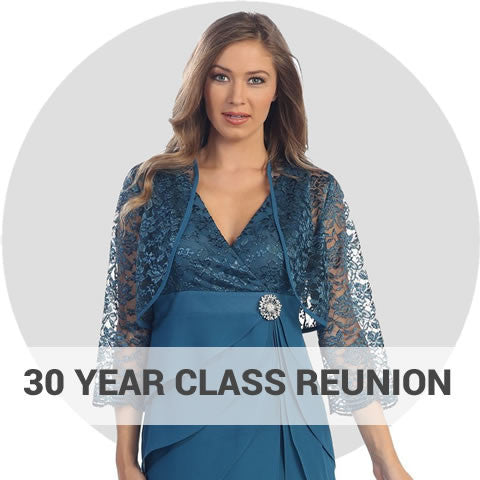 30 Year High School Reunion Dresses