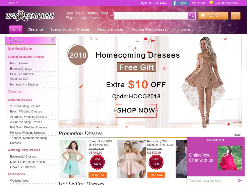 241048b5255 27Dress.com has been known to sell knock-off formal dresses