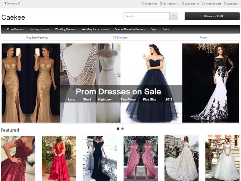53362e945ab Caekee.com has been known to sell knock-off formal dresses