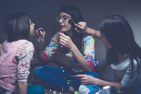 DIY make up tips for teen girls