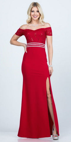 Short Cocktail Eggplant Dress Embellished Waist Fit And Flare