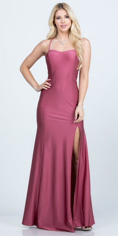 Fitted Stretch Cocktail Dress Silver Beaded Belt Waist Deep Plunging Neckline