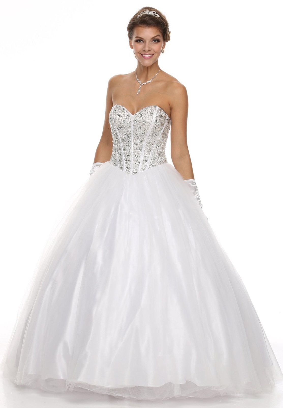 corset bodice wedding dress. corset bodice flared a line white quinceanera gown wedding dress
