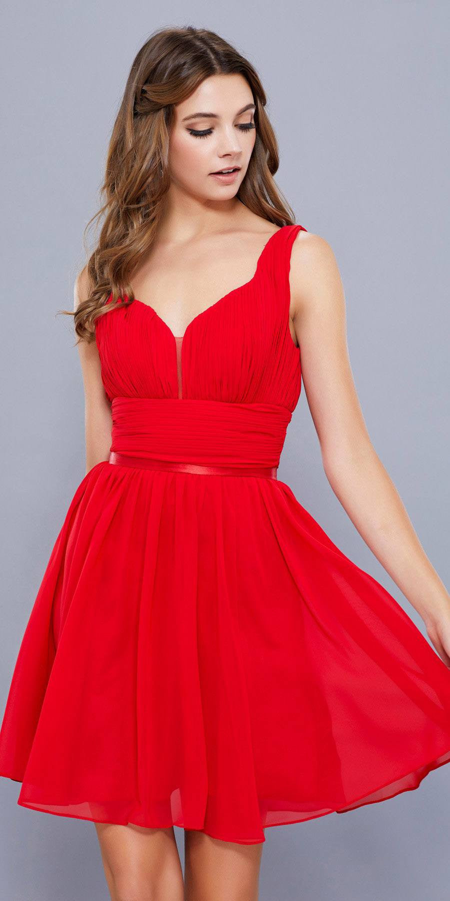 Cocktail Dresses with Sweetheart Neckline