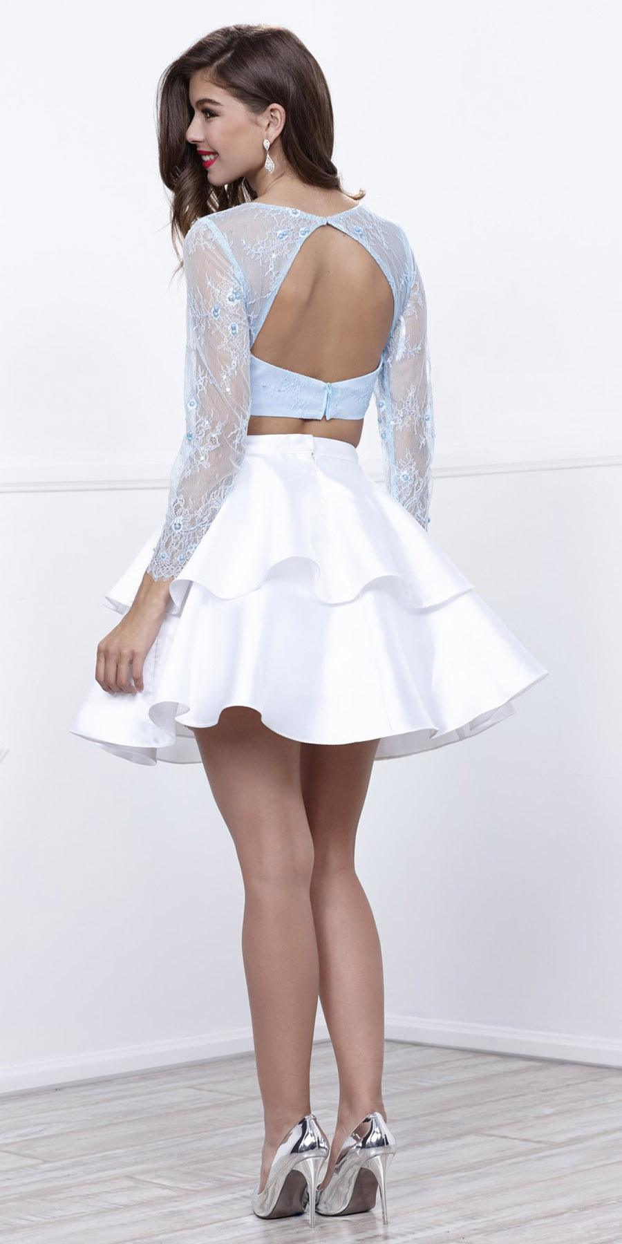 Homecoming Dress with Sleeves