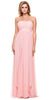 Floor Length Convertible Bridesmaids Dress Chiffon Bashful Pink