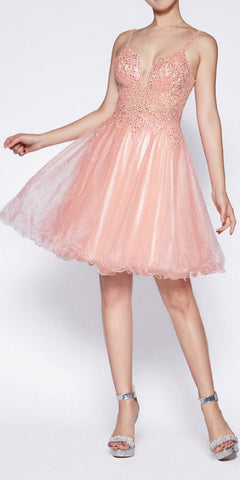 Cinderella Divine Black Label CS029 Rose Pink Dress Full Length