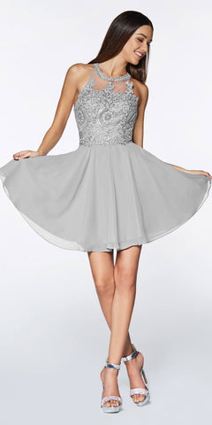 Starbox USA S6074 Sweetheart Pleated Bust Drape Skirt Tiffany Blue Above-Knee Dress Strapless