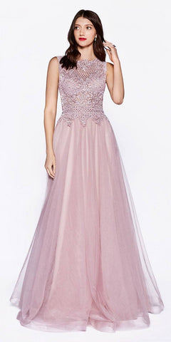 CLEARANCE - Fuchsia Satin Prom Dress Pleated Bodice Strapless Sweetheart Neck (Size XL)