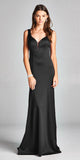Aspeed USA D117 Sweetheart Neck Mermaid Long Formal Dress Black