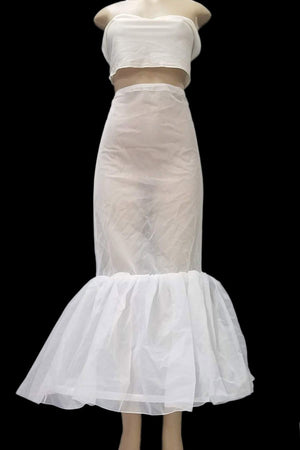 Petticoat With Lining For Sheath/Mermaid Look - P6142