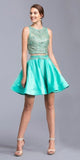 Jade Two-Piece Homecoming Dress with Pockets